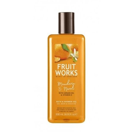 Grace Cole Fruit Works Bath & Shower Gel żel pod prysznic Mandarin & Neroli 500ml
