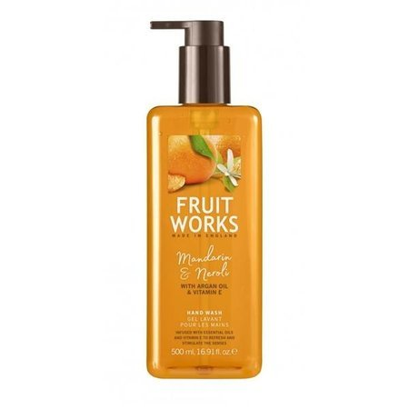 Grace Cole Fruit Works Hand Wash mydło do rąk Mandarin & Neroli 500ml